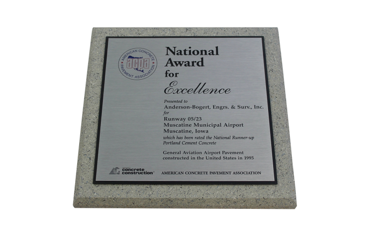 1995 National Award for Excellence