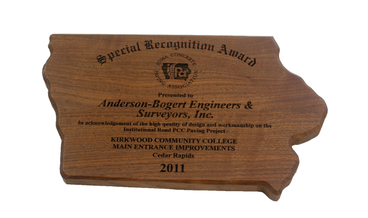 2011 Special Recognition Award