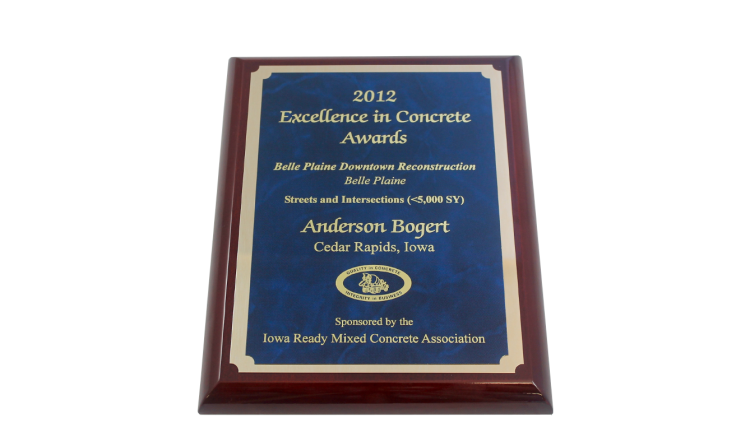 2012 Excellence in Concrete Awards