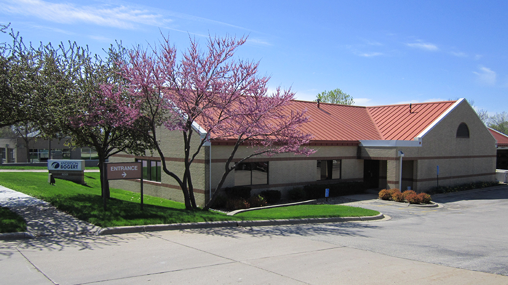 Spring photo of the Cedar Rapids Office