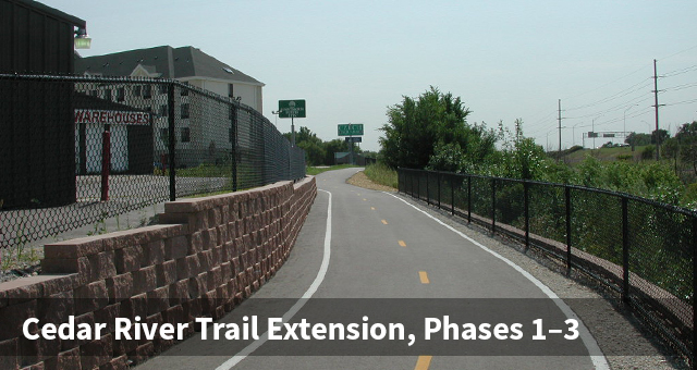 Cedar River Trail Paved Section