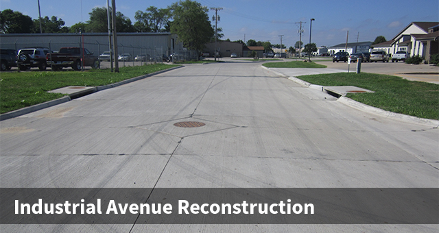 Industrial Avenue Reconstruction